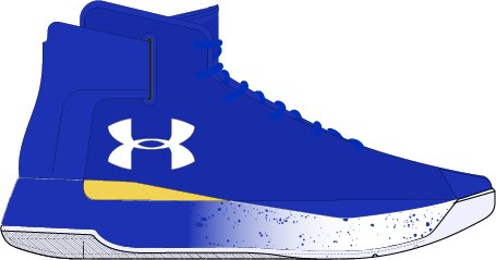 Boys' Grade School UA Curry 3ZER0 Basketball Shoes, TEAM ROYAL, undefined