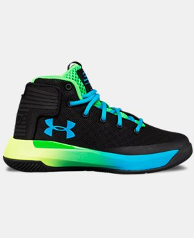 Boys' Pre-School UA Curry 3ZER0 Basketball Shoes  1 Color $56.24
