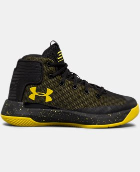 Boys' Pre-School UA Curry 3ZER0 Basketball Shoes   $44.99