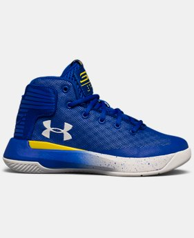 Boys' Pre-School UA Curry 3ZER0 Basketball Shoes  3 Colors $59.99