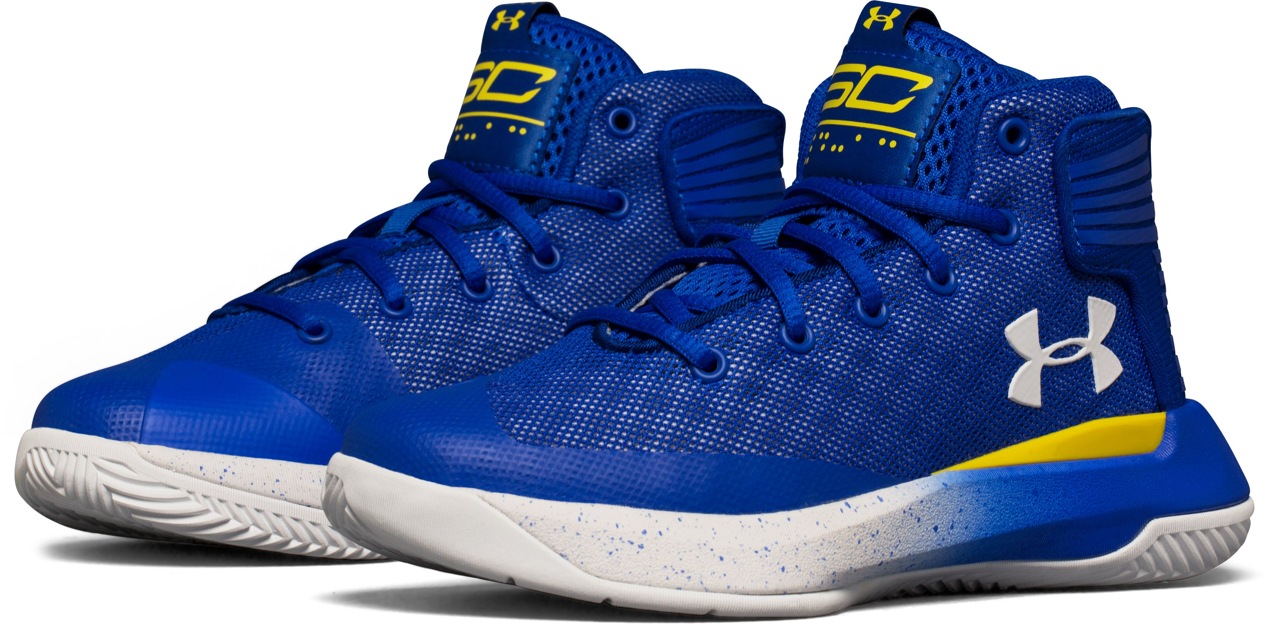Boys' Pre-School UA Curry 3ZER0 Basketball Shoes, TEAM ROYAL, undefined