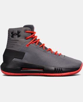 Boys' Grade School UA Drive 4 Basketball Shoes  1 Color $79.99