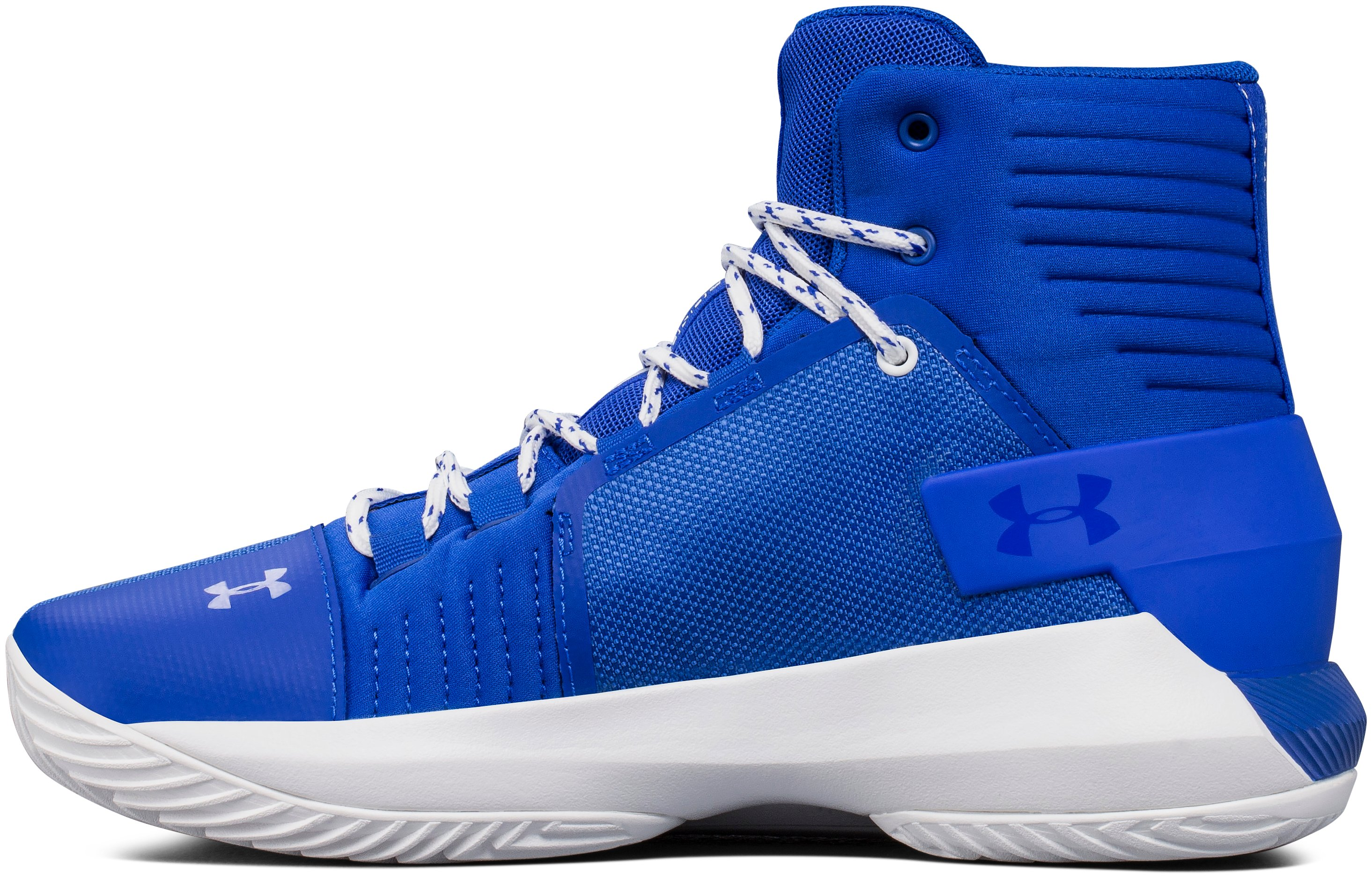 Boys' Grade School UA Drive 4 Basketball Shoes, TEAM ROYAL, undefined