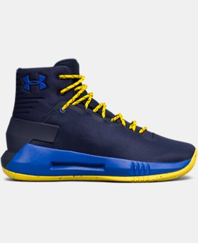 New to Outlet Boys' Grade School UA Drive 4 Basketball Shoes  1  Color Available $59.99