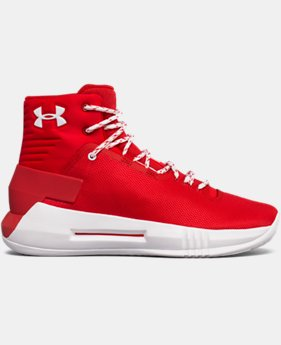 New Arrival Boys' Grade School UA Drive 4 Basketball Shoes  1 Color $79.99