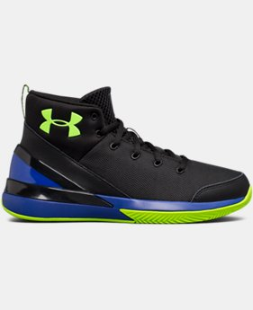 New Arrival  Boys' Grade School UA X Level Ninja Basketball Shoes  4 Colors $89.99