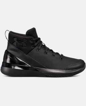 Boys' Grade School UA X Level Ninja Basketball Shoes  3  Colors $74.99