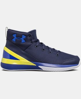 New Arrival Boys' Grade School UA X Level Ninja Basketball Shoes  2 Colors $74.99