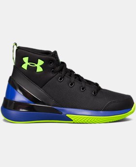 New Arrival  Boys' Pre-School UA X Level Ninja Basketball Shoes  3 Colors $79.99