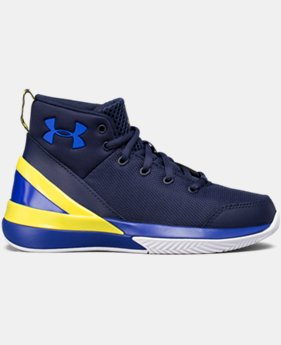 Boys' Pre-School UA X Level Ninja Basketball Shoes  2 Colors $67.99