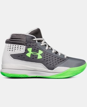 Boys' Grade School UA Jet 2017 Basketball Shoes  5 Colors $54.99