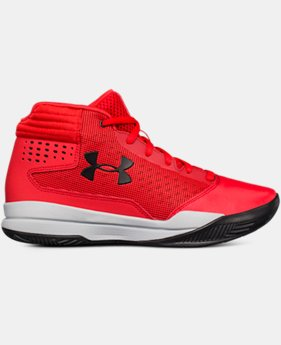 Boys' Grade School UA Jet 2017 Basketball Shoes  1  Color Available $54.99