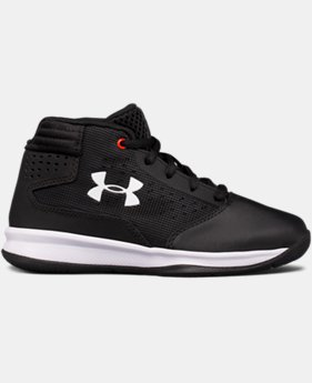 Boys' Pre-School UA Jet 2017 Basketball Shoes  3 Colors $59.99