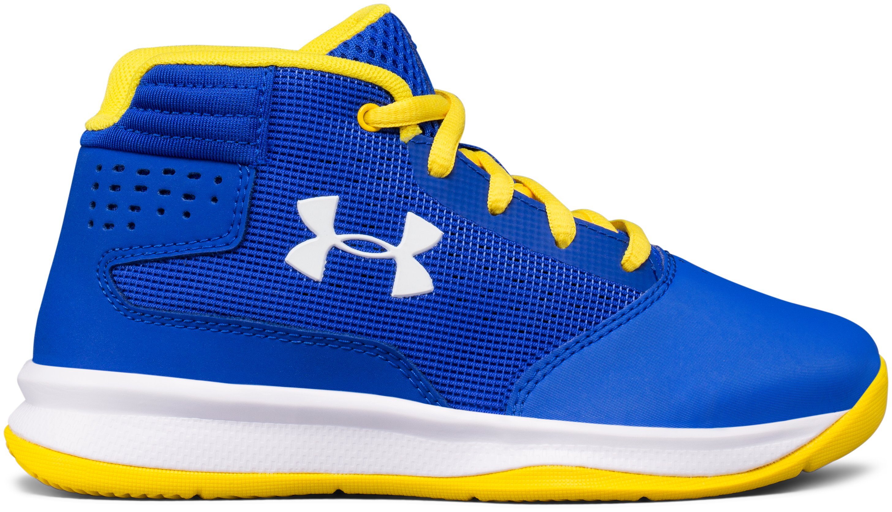 Boys' Pre-School UA Jet 2017 Basketball Shoes, TEAM ROYAL