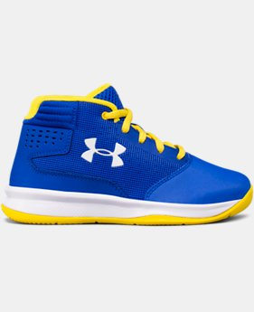 Boys' Pre-School UA Jet 2017 Basketball Shoes  4 Colors $59.99