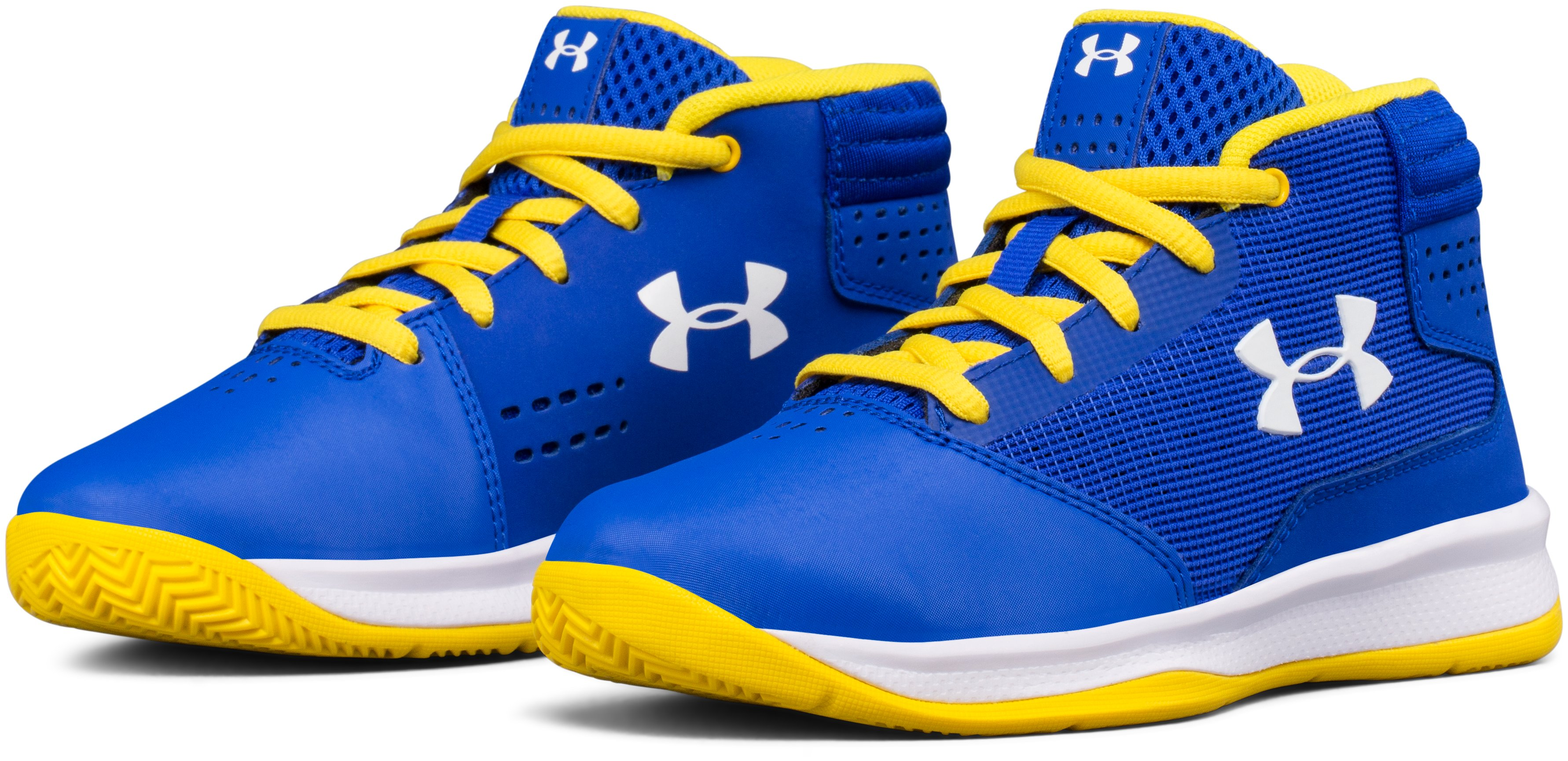 Boys' Pre-School UA Jet 2017 Basketball Shoes, TEAM ROYAL, undefined