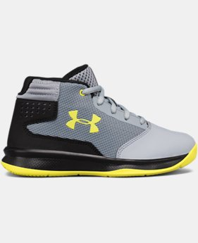 Boys' Pre-School UA Jet 2017 Basketball Shoes  2 Colors $59.99