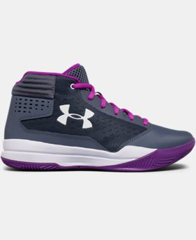 Girls' Grade School UA Jet 2017 Basketball Shoes  2  Colors Available $48.74