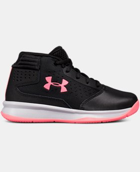 Girls' Pre-School UA Jet 2017 Basketball Shoes  1 Color $54.99