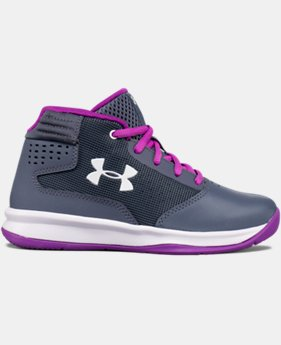 Girls' Pre-School UA Jet 2017 Basketball Shoes  2 Colors $59.99