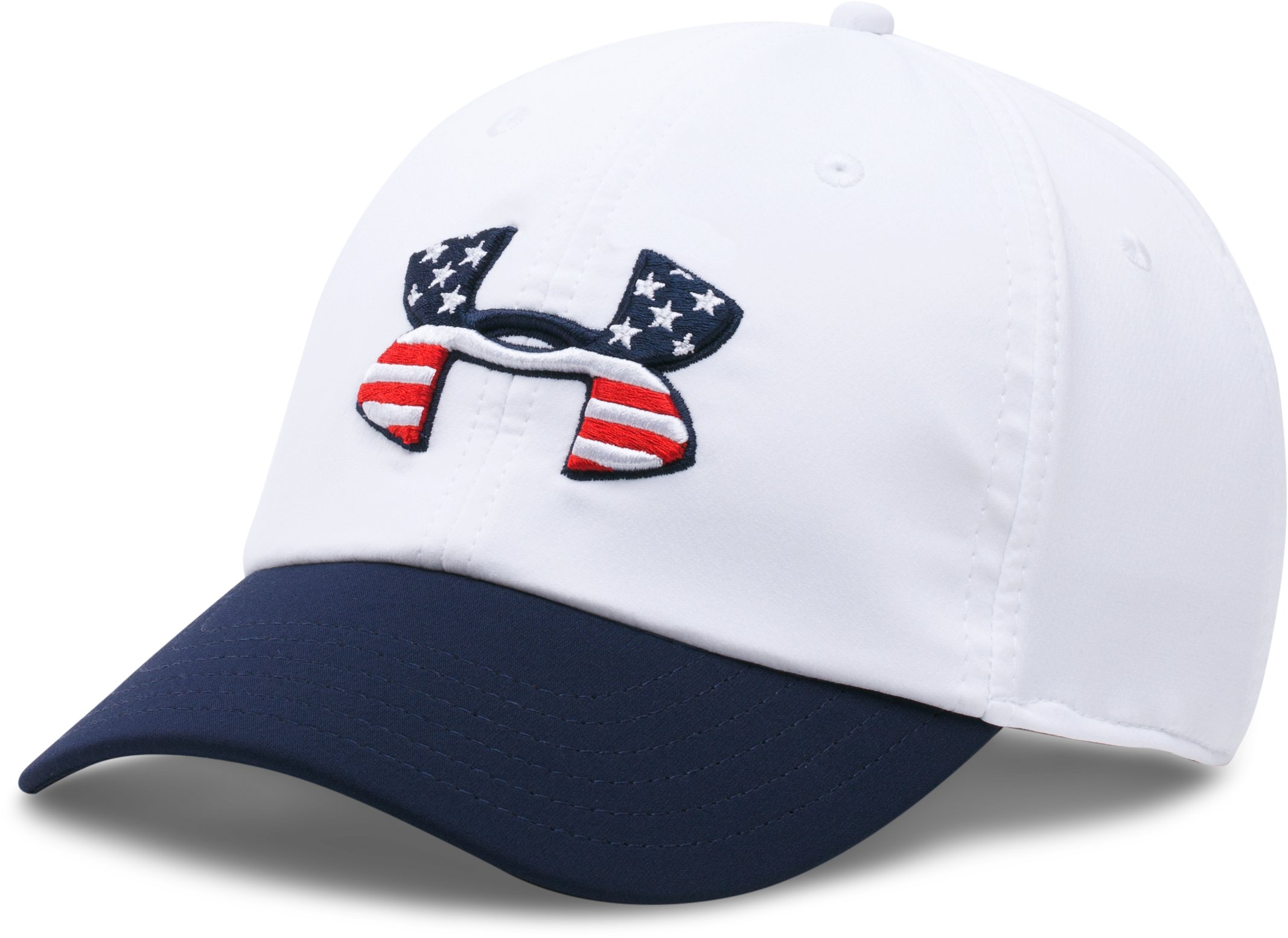 Men's UA 4th Of July Renegade Cap, White,
