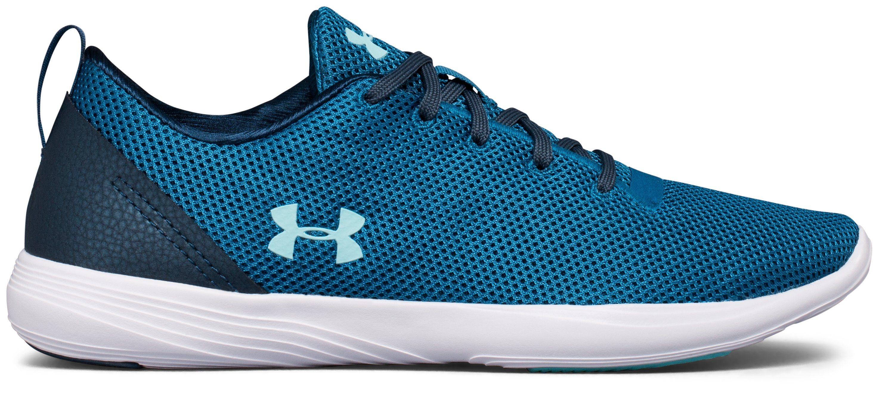 Women's UA Street Precision Sport Low Neutral Lifestyle Shoes, BAYOU BLUE, undefined