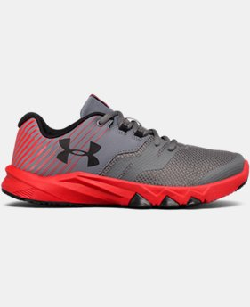 Boys' Grade School UA Primed 2 Running Shoes LIMITED TIME OFFER 3 Colors $48.74