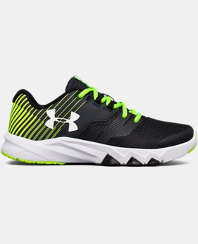 Boys' Grade School UA Primed 2 Running Shoes LIMITED TIME OFFER 1 Color $59.99