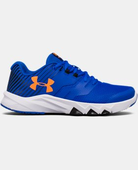 Boys' Grade School UA Primed 2 Running Shoes LIMITED TIME OFFER 1 Color $48.74