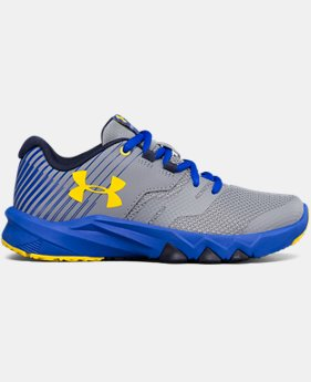 New to Outlet Boys' Pre-School UA Primed 2 Running Shoes LIMITED TIME OFFER 1 Color $43.49