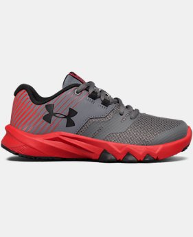 New Arrival Boys' Pre-School UA Primed 2 Running Shoes   $57.99