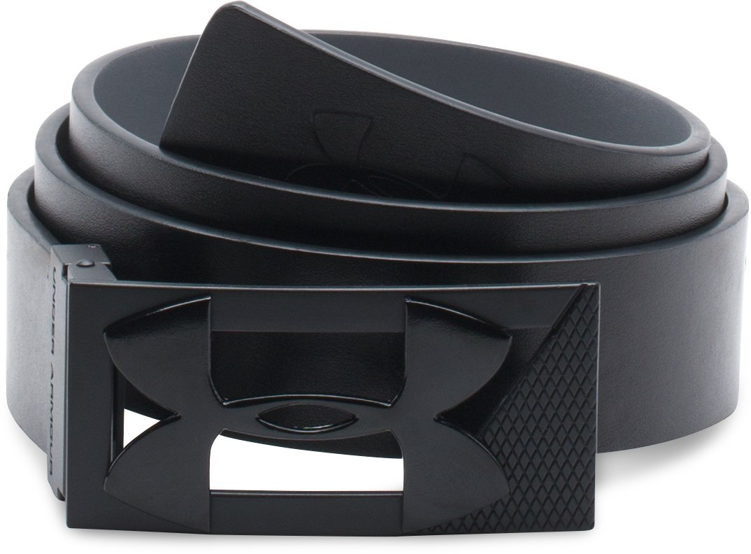 Men's UA Reversible PU Leather Golf Belt, Black
