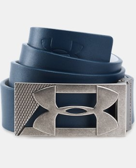 Men's UA Reversible PU Leather Golf Belt  3 Colors $34.99