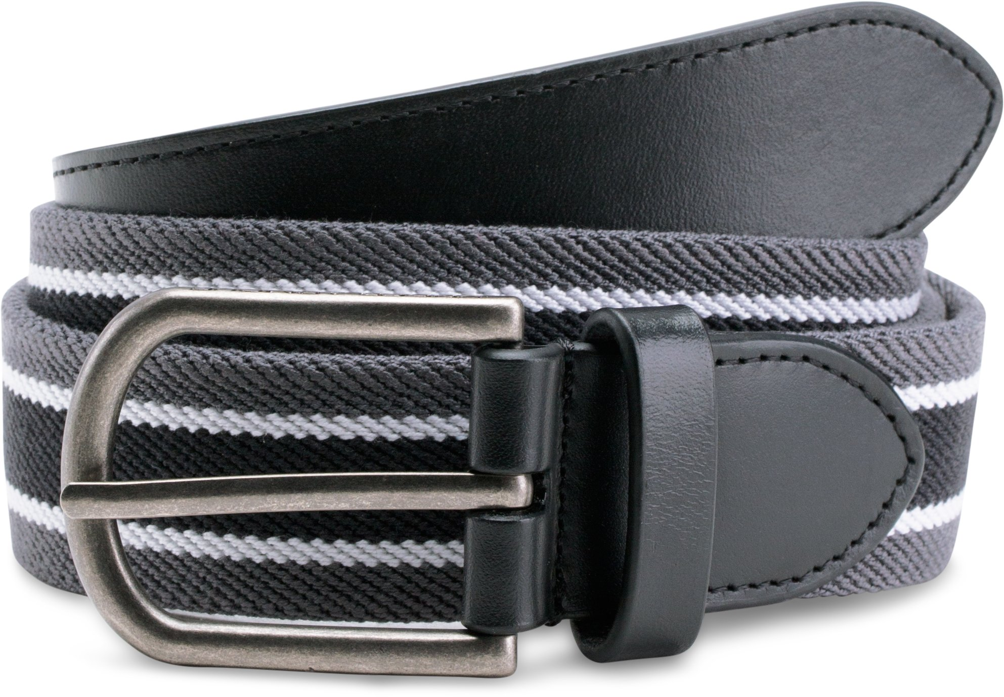 Men's UA Performance Stretch Belt, RHINO GRAY,