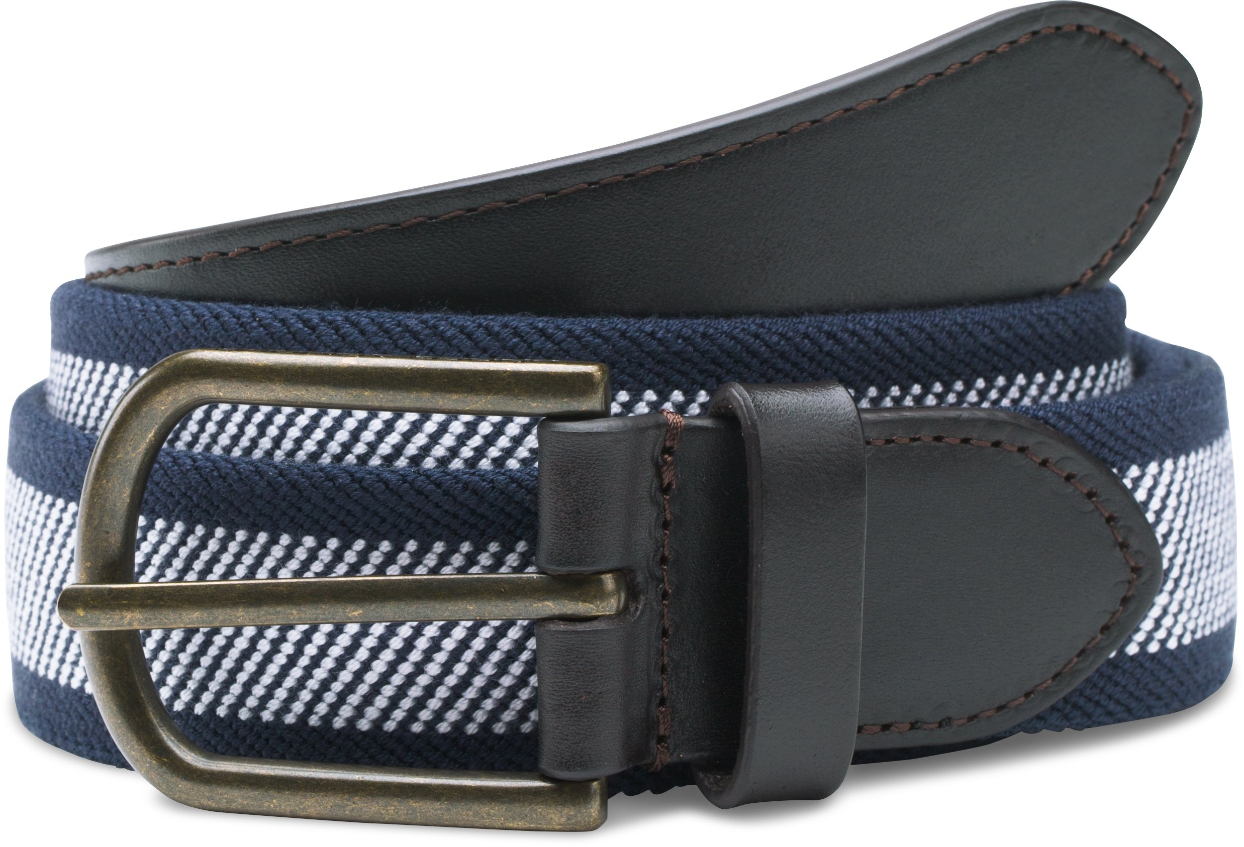 Men's UA Performance Stretch Belt, Academy, undefined