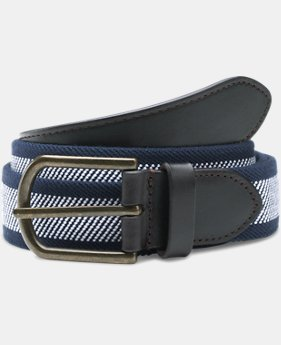 Men's UA Performance Stretch Belt  1  Color Available $20.99 to $26.99