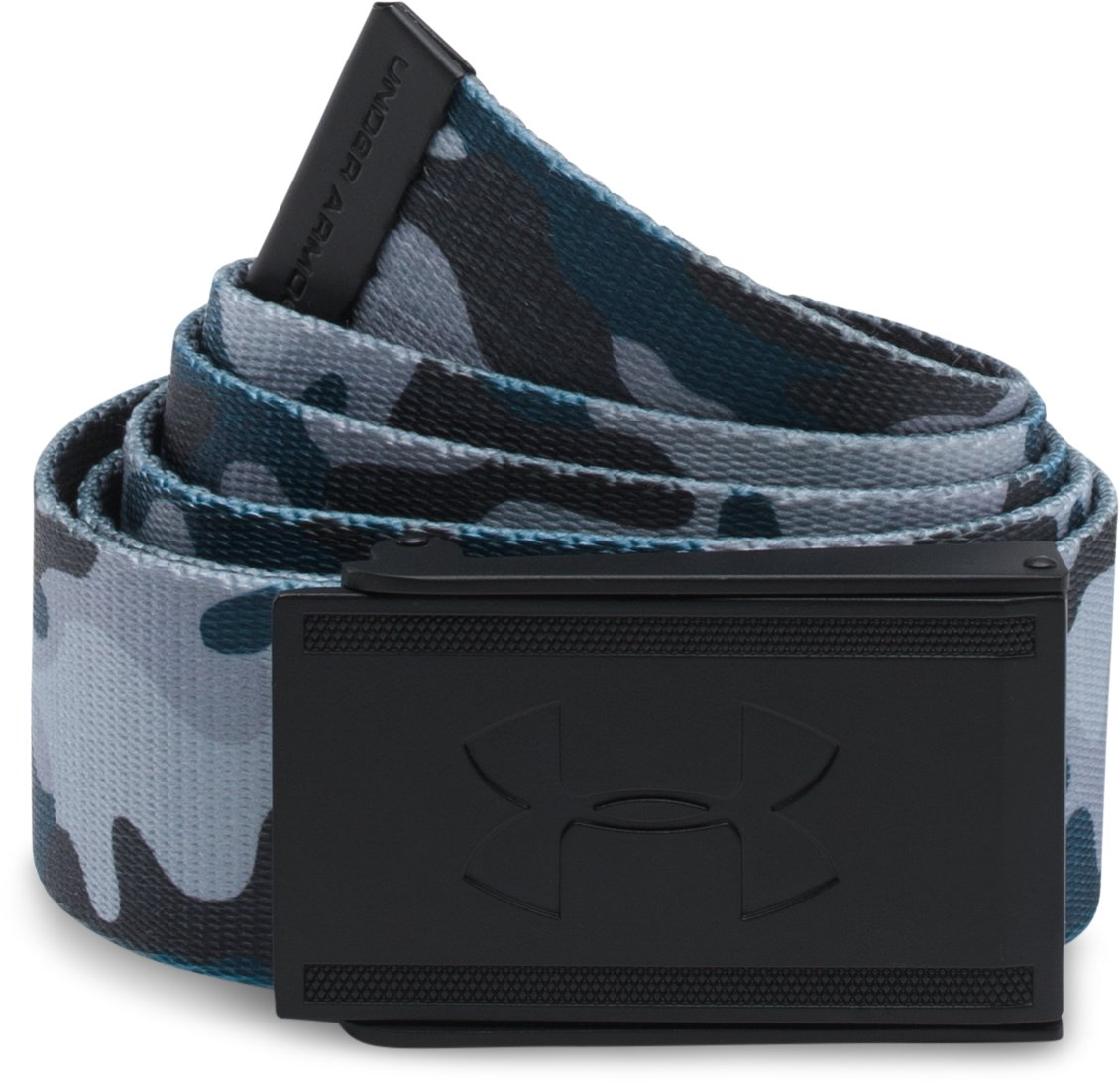 Men's UA Range 2 Webbing Belt, Black , zoomed image