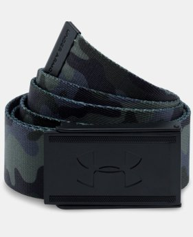 New Arrival Men's UA Range 2 Webbing Belt   $24.99