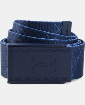 Men's UA Range 2 Webbing Belt  1 Color $24.99
