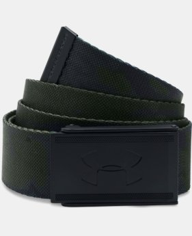Men's UA Range 2 Webbing Belt  1 Color $18.99