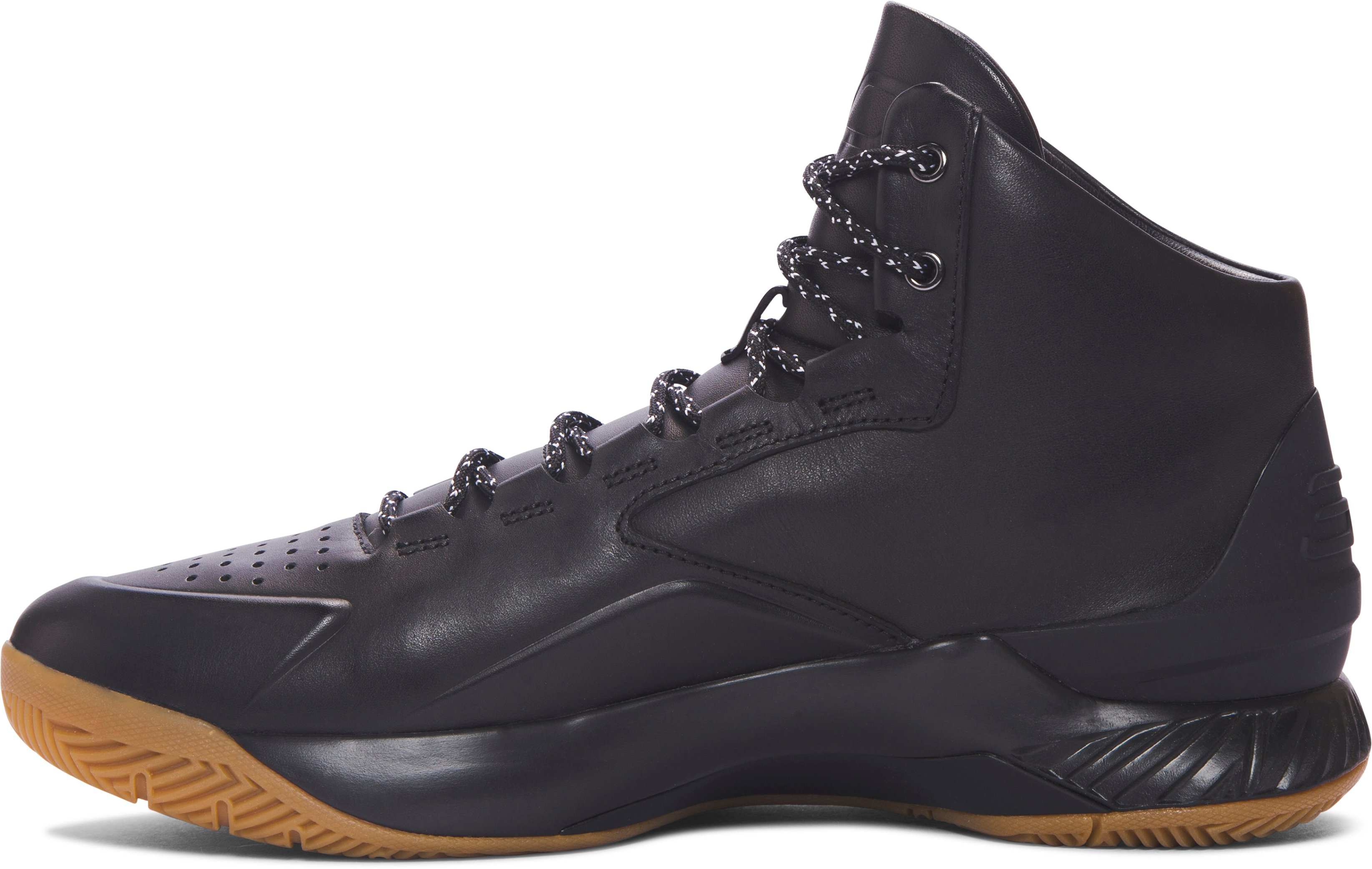 Men's UA Curry Lux Basketball Shoes, Black