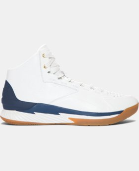 Men's UA Curry Lux Basketball Shoes  1 Color $77.99