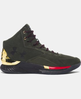 Men's UA Curry Lux Basketball Shoes  1 Color $96.99 to $99.99