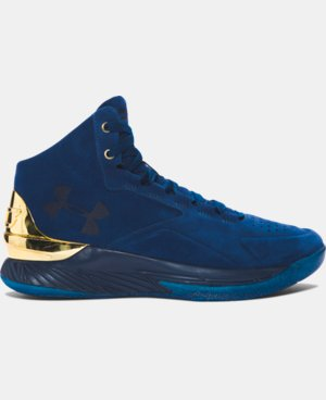 Men's UA Curry Lux Basketball Shoes  1 Color $179.99