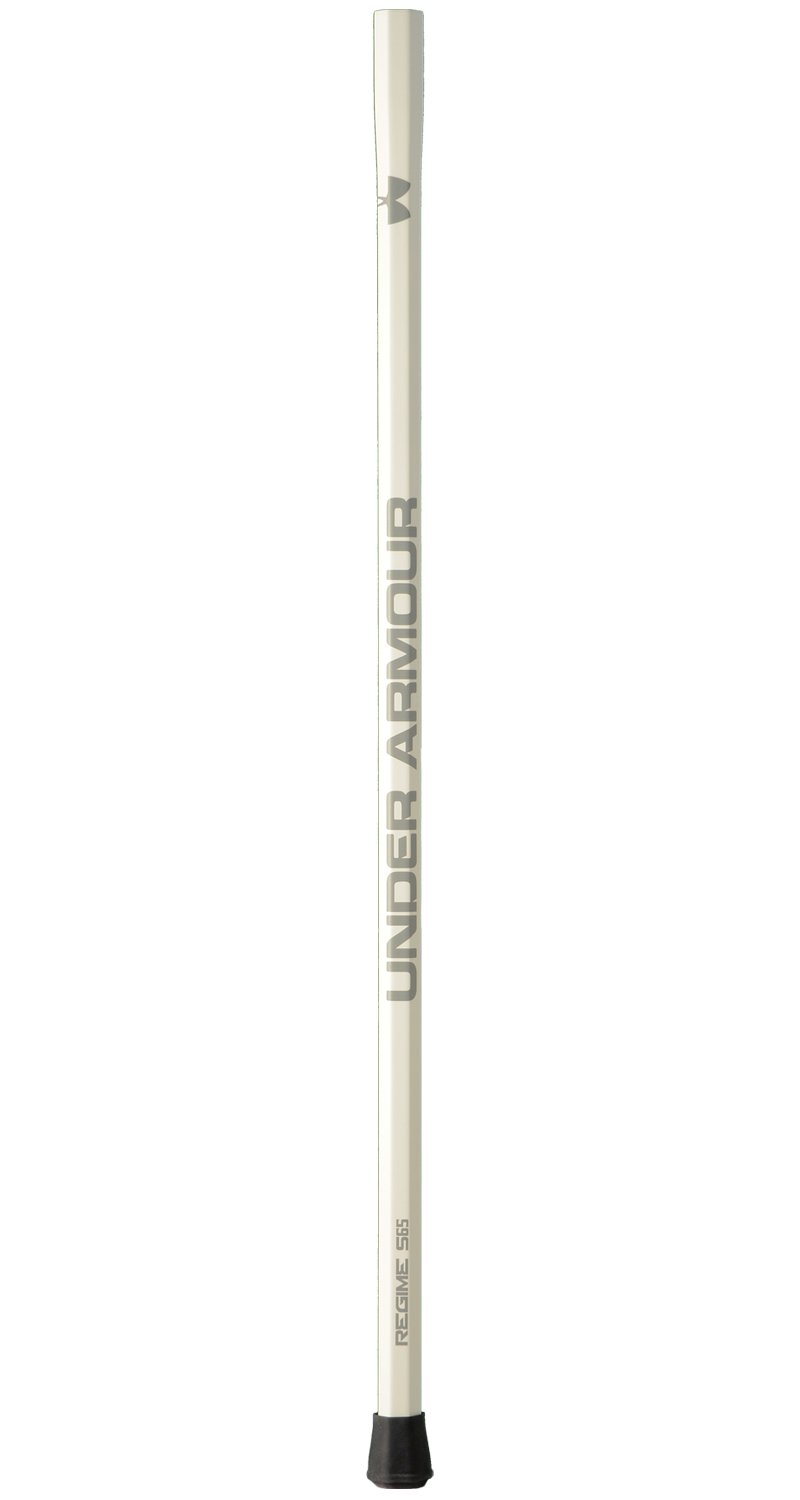 Women's UA Regime Composite Lacrosse Handle, White, zoomed image
