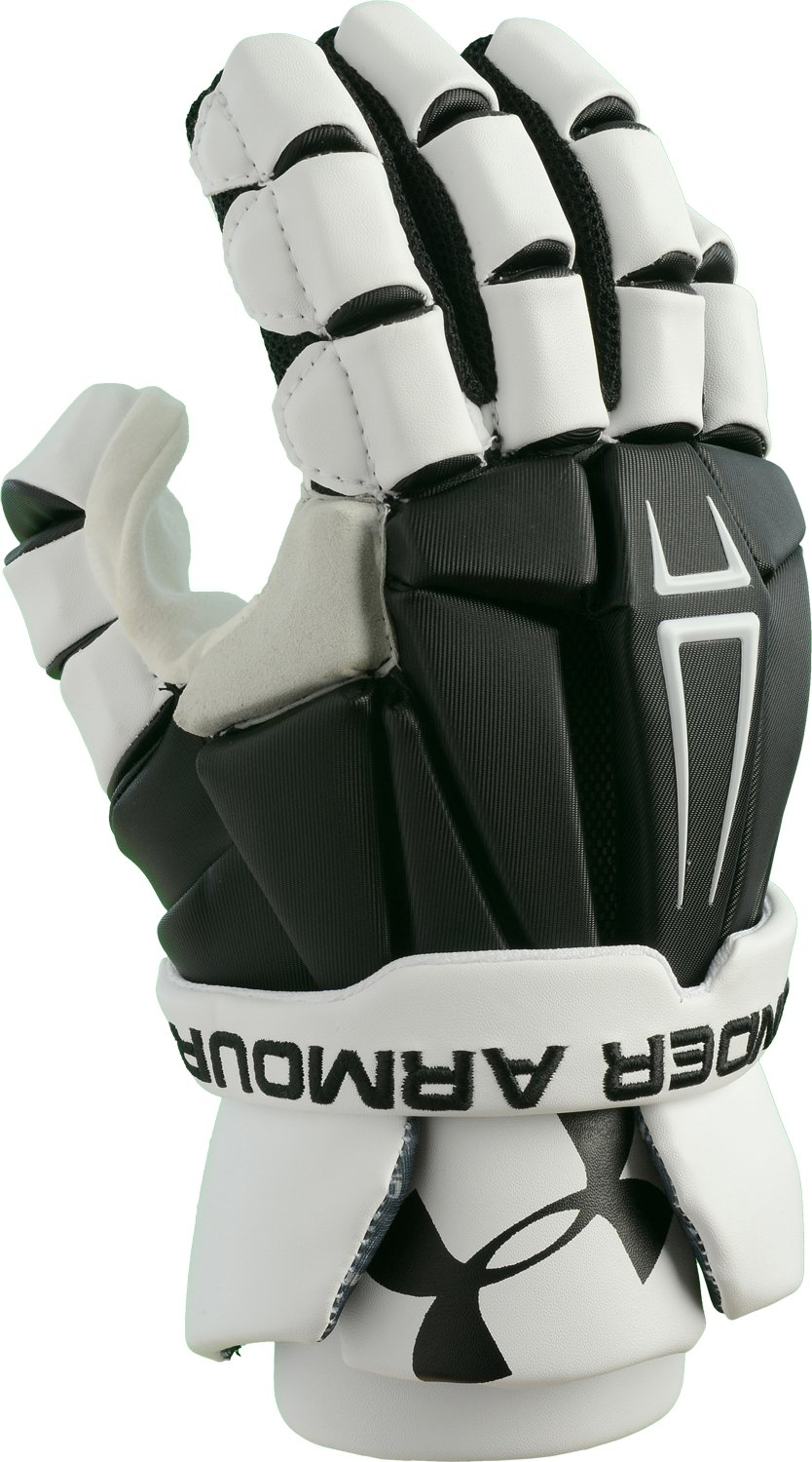 Men's UA Command Pro Lacrosse Glove, Black ,