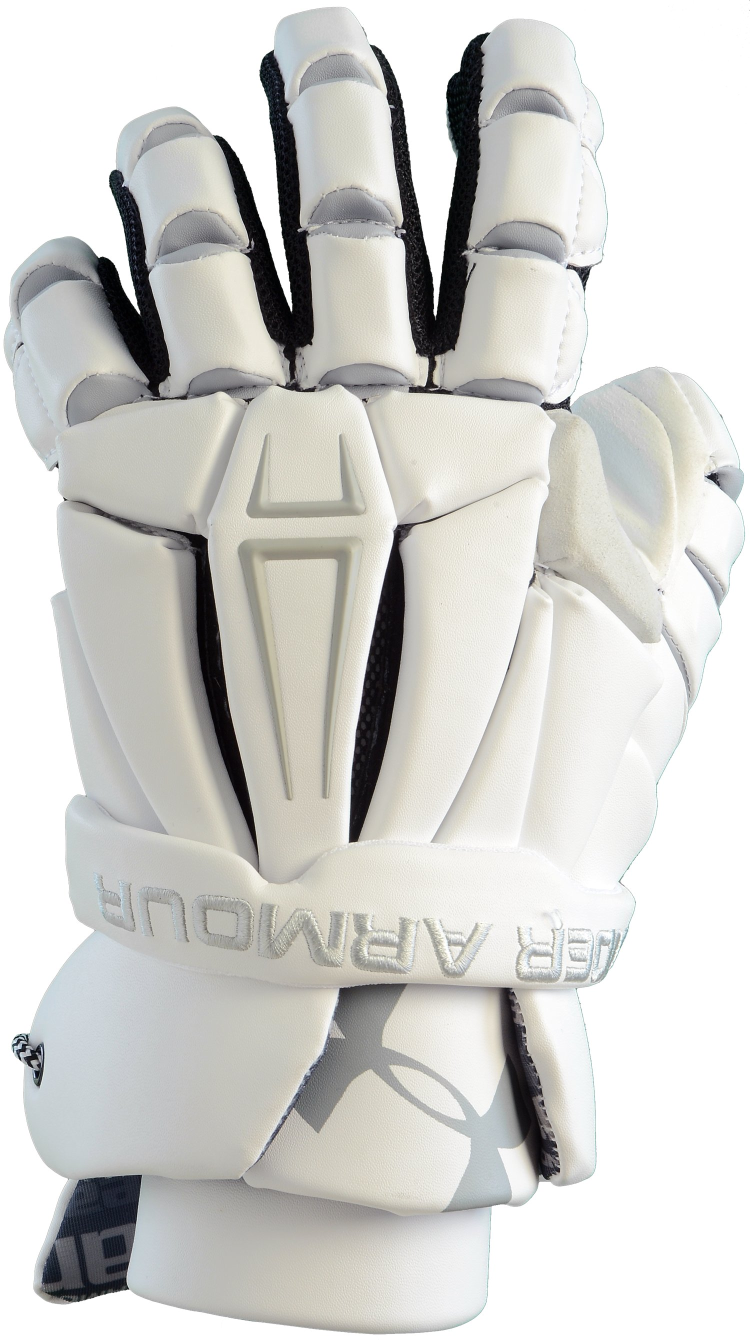 Men's UA Command Pro Lacrosse Glove, White, undefined