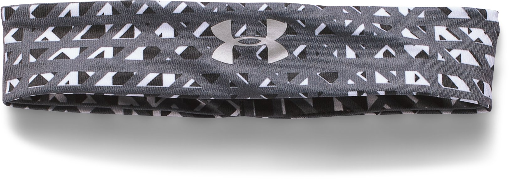 Girls' UA Studio Sport Headband, Black , undefined