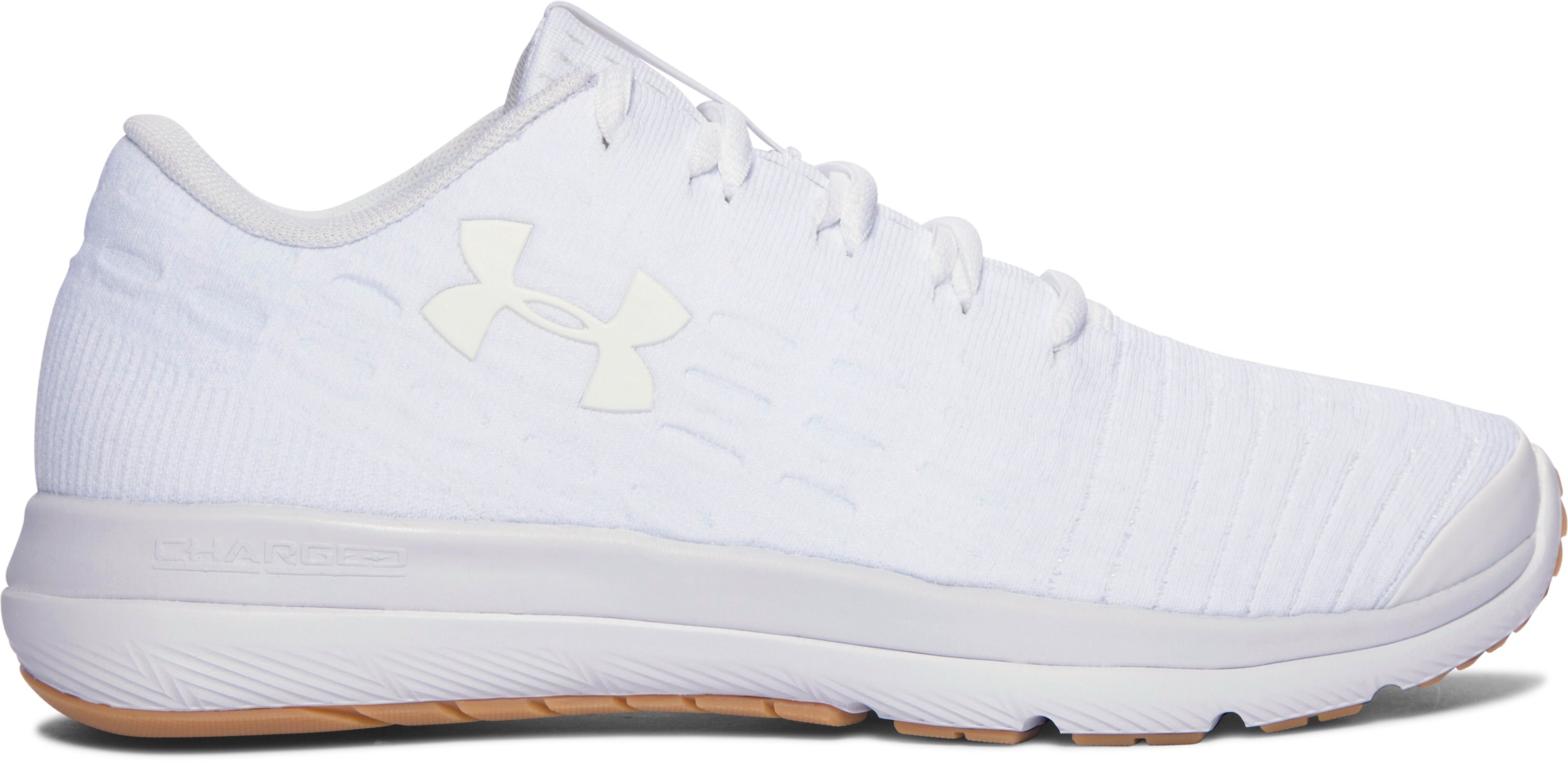 Boys' Grade School UA Threadborne Slingflex Shoes, White