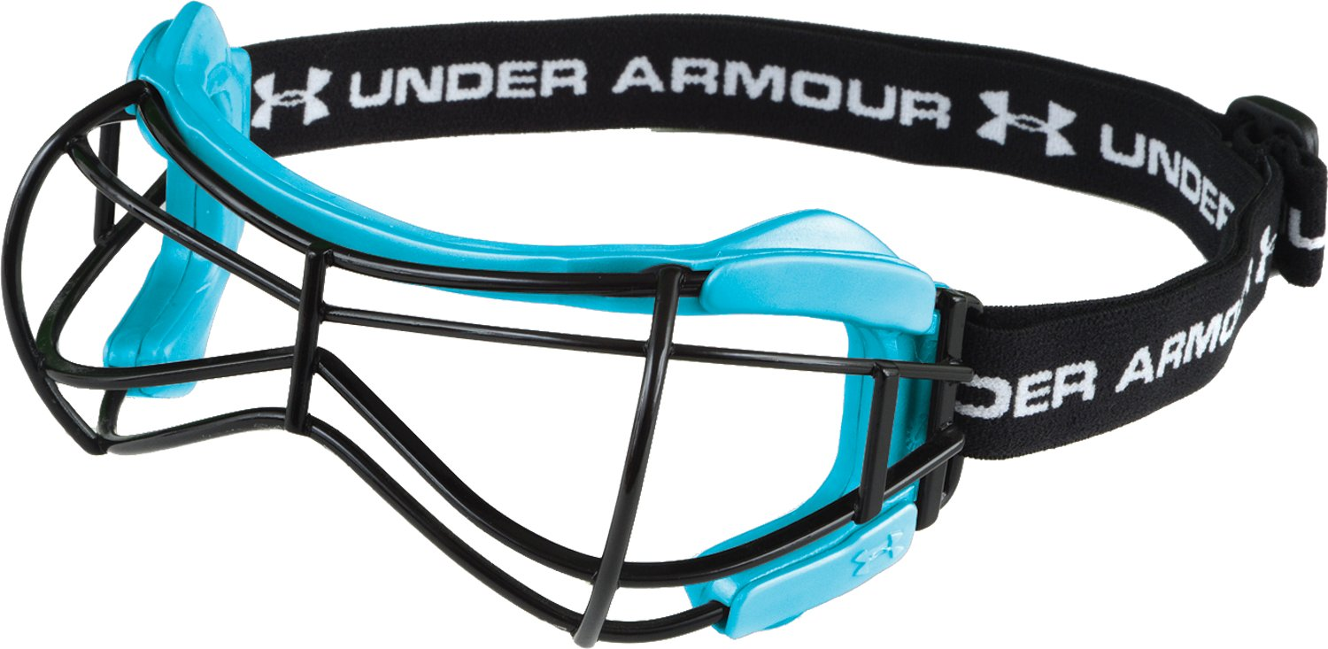 Women's UA Illusion 2 Lacrosse Goggles, Carolina Blue, undefined